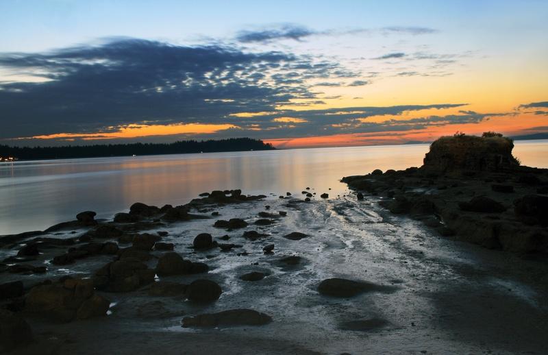 Sunset on Craig Bay